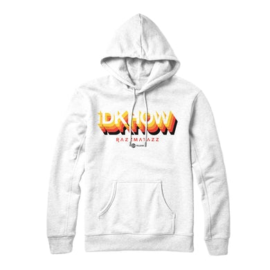 I DONT KNOW HOW BUT THEY FOUND ME - 3D Logo White Hoodie