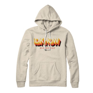 I DONT KNOW HOW BUT THEY FOUND ME - 3D Logo Sand Hoodie
