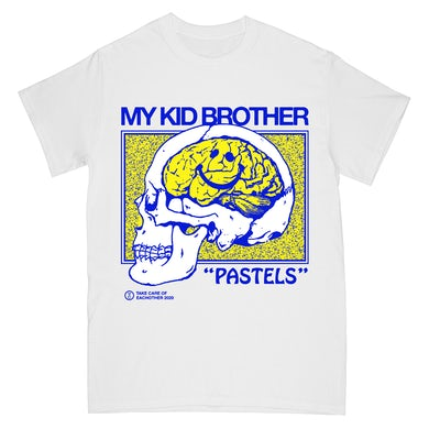 "My Kid Brother - ""Pastels Skull"" T-Shirt + Digital Download"