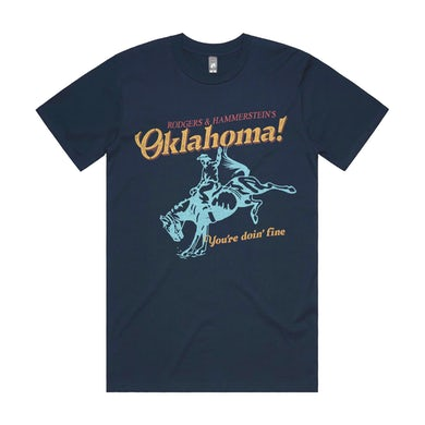 """Rodgers And Hammerstein Oklahoma! - """"You're Doin' Fine"""" T-Shirt"""