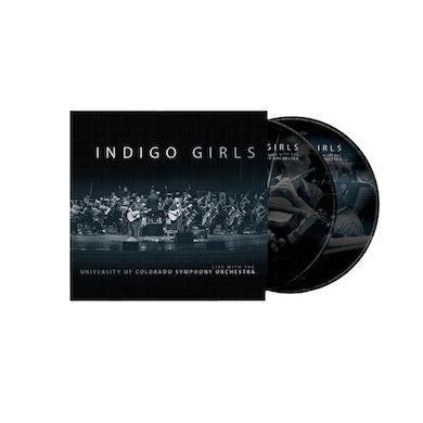 Indigo Girls - Indigo Girls Live with The University of Colorado Symphony Orchestra 2XCD