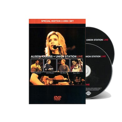 Alison Krauss and the Union Station  & Union Station - Live DVD