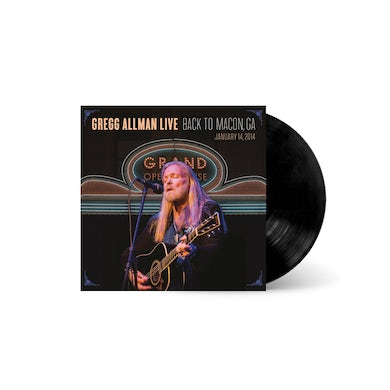 LIVE: Back To Macon, GA Vinyl LP