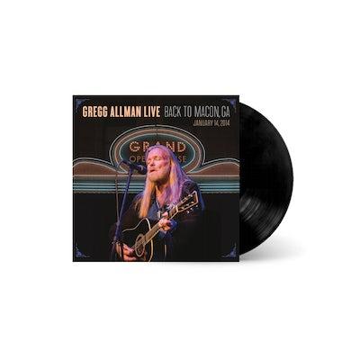 Gregg Allman - LIVE: Back To Macon, GA Vinyl LP