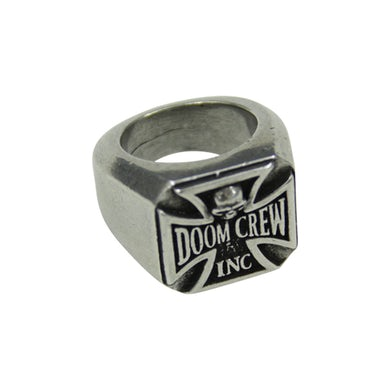 Black Label Society Official Doom Crew Ring