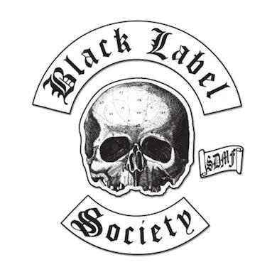 Black Label Society BLS Back Patch Set