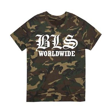"Black Label Society ""Worldwide"" Camo Tee"