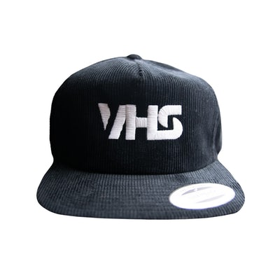 VHS Collection Embroidered Corduroy Hat