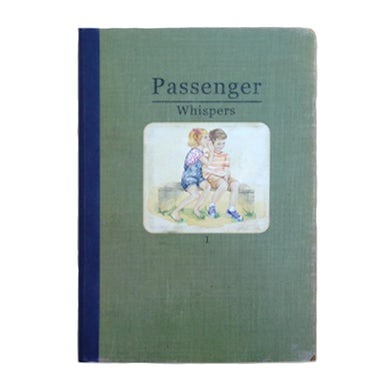 Passenger Whispers | A5 Hardback Notebook