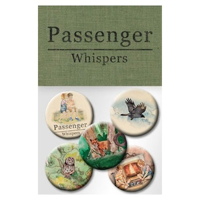 Passenger Whispers | Badge Pack