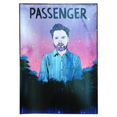 Passenger All The Little Lights | 'Folk Giant' A3 Poster