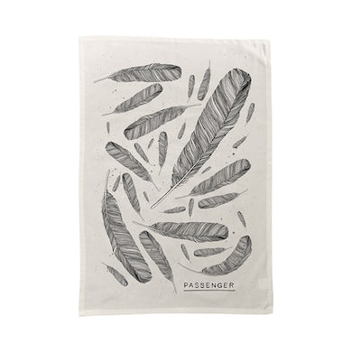 Passenger Young as the Morning Old as the Sea | Feather Tea Towel