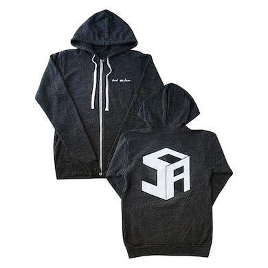 Cube Zip Up Hoodie