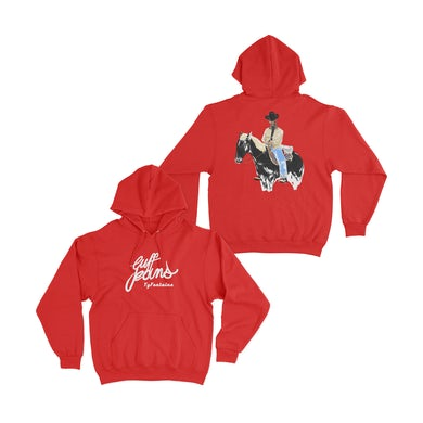 TyFontaine Cuff Jeans Hoodie - Red