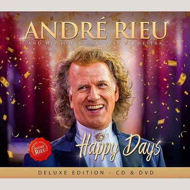 ANDRÉ RIEU Happy Days CD/ DVD