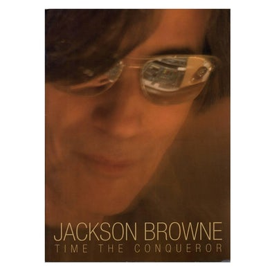 """JACKSON BROWNE """"Time The Conqueror"""" Tour Book"""