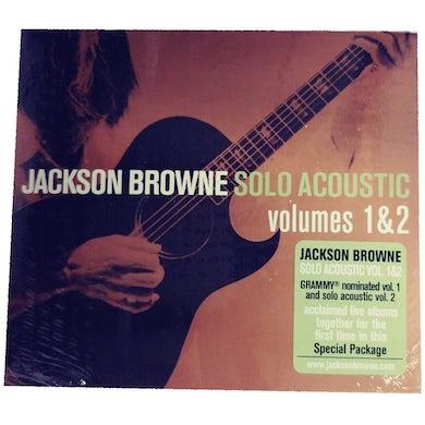 JACKSON BROWNE Solo Acoustic CD Volumes 1 & 2