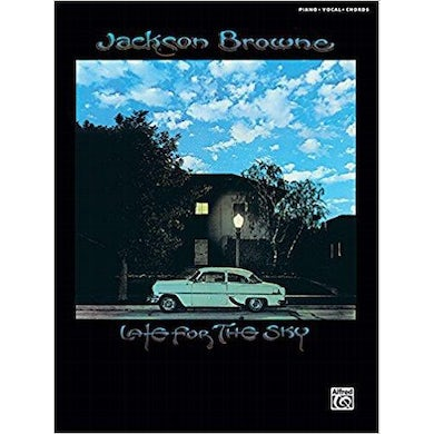 JACKSON BROWNE Late For The Sky Songbook