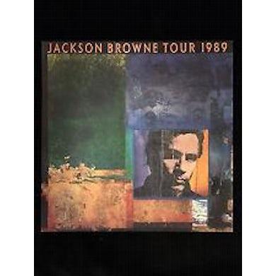 JACKSON BROWNE 1989 Tour Program Book