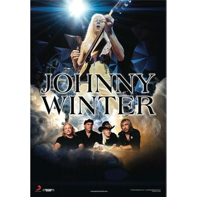 JOHNNY WINTER Tour Poster
