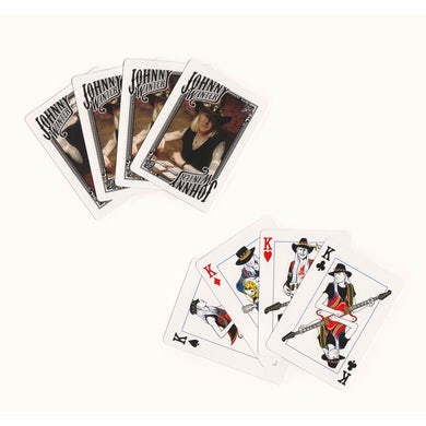 JOHNNY WINTER Playing Cards