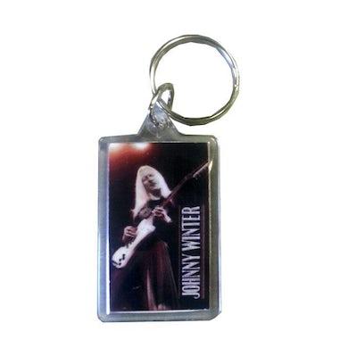 JOHNNY WINTER Live Photo Keychain
