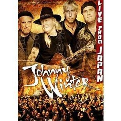 JOHNNY WINTER Live in Japan DVD
