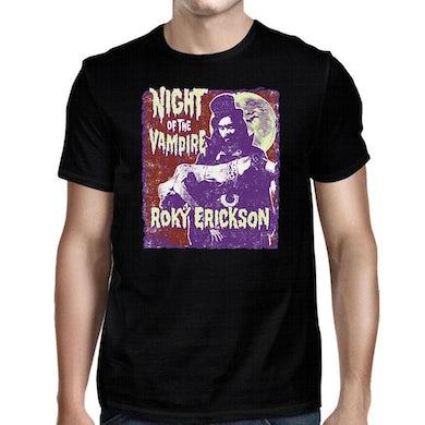 Night Of The Vampire Black T-Shirt