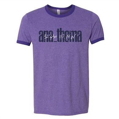 ANATHEMA Logo Ringer Shirt