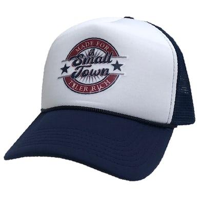 Tyler Rich White and Navy Trucker Hat