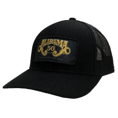 Alabama 50th Anniversary Black Ballcap