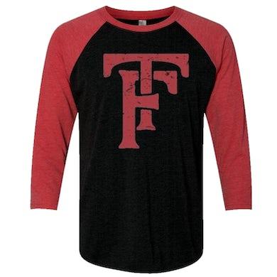 Tyler Farr Vintage Black and Red Raglan Tee
