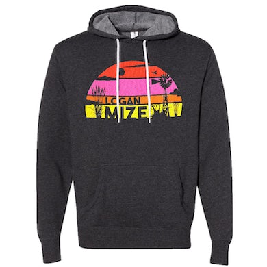 Logan Mize Charcoal Pullover Hoodie