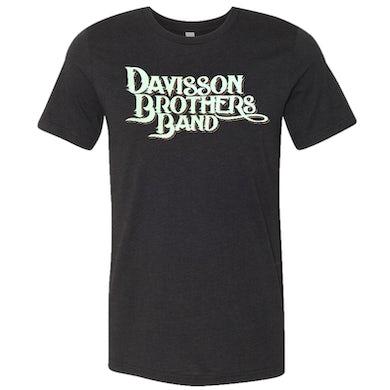 Davisson Brothers Band Black Heather Logo Tee