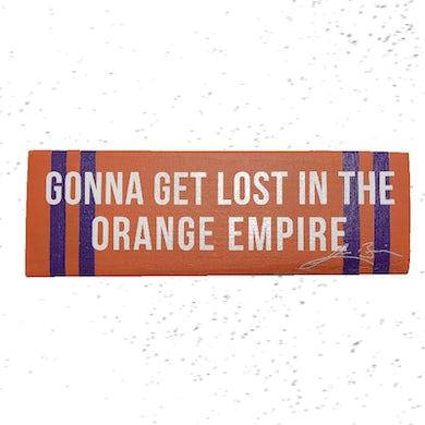 Lee Brice Orange Empire Lyric Block