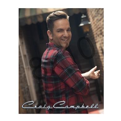 Craig Campbell Plaid Shirt 8x10