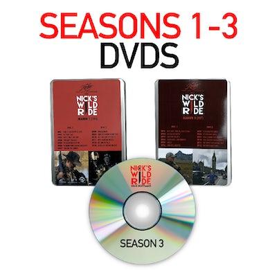 Nick's Wild Ride Season 1-3 DVD Set