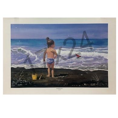 Mel Tillis Print- Hanna By The Sea