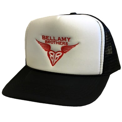 White and Black Trucker Hat