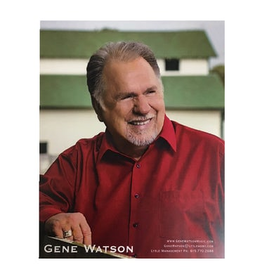 Gene Watson Red Shirt 8x10