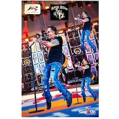 Gary Allan Reusable Vinyl Decal Sheet