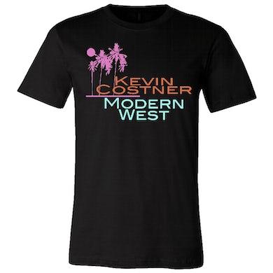 Kevin Costner Modern West Kevin Costner & Modern West Unisex Black Tee