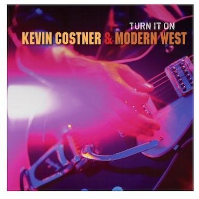 Kevin Costner Modern West Kevin Costner and Modern West CD- Turn It On