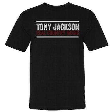 Tony Jackson Unisex Black Tee
