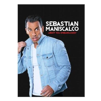 Sebastian Maniscalco AUTOGRAPHED DVD- Aren't You Embarrassed