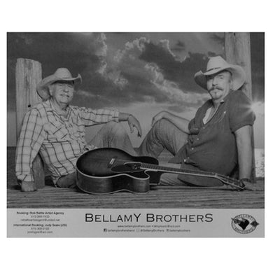 Bellamy Brothers Bellamy Brother Black and White 8x10