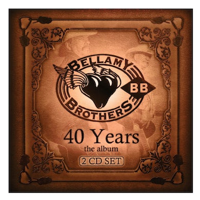 Bellamy Brothers 2 Disc CD Set- 40 Years: The Album