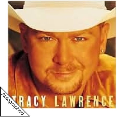 Tracy Lawrence AUTOGRAPHED Self Titled CD