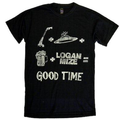 Logan Mize Black UFO Good Time Tee