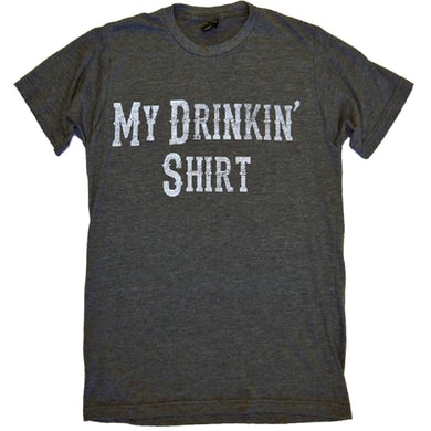 Jason Blaine Heather Charcoal Drinkin' Shirt